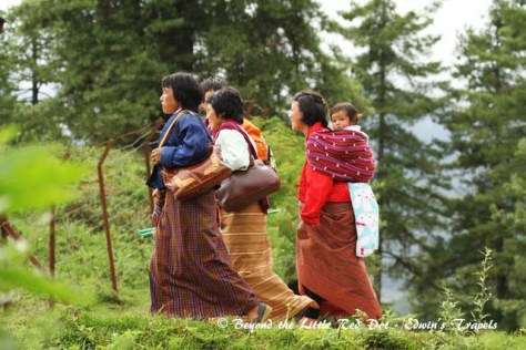 bhutan_villagers