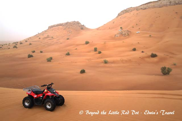 You can dune bash with this ATV if you are up for it.