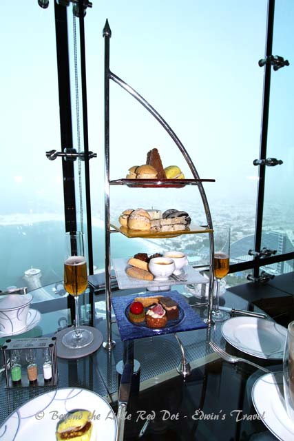 The expensive high tea that everyone tries, including us.