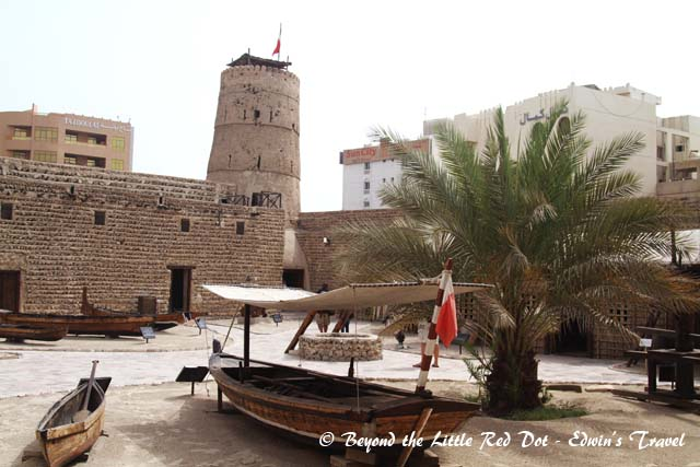 The Dubai Museum. It's a great place to learn about the history of Dubai and how it has developed into what it is today.
