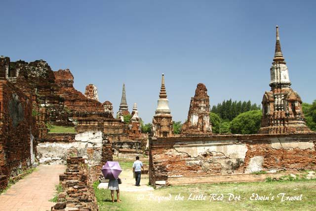 Wat Mahathat ruins.
