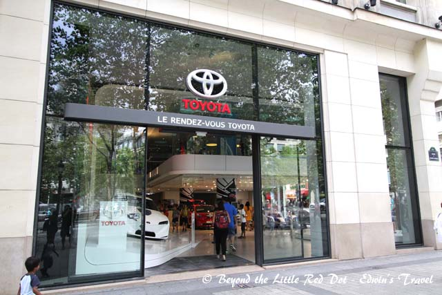 There are many big brands with shops here including car brands. But don't expect to find your Toyota Altis here.