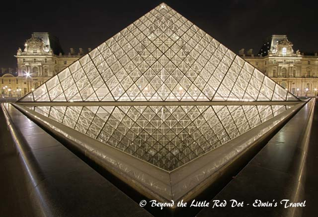 Reflection of the main Pyramid.