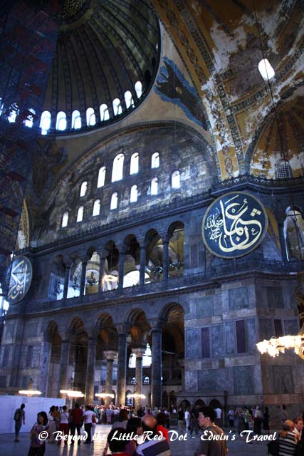 The Hagia Sophia was a church until 1453 when it was converted into a mosque. In 1931, it was converted into a museum.