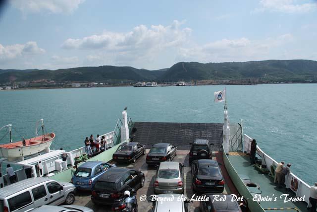 Approaching Bursa.