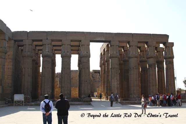 The Temple of Luxor is also another large complex of temples.