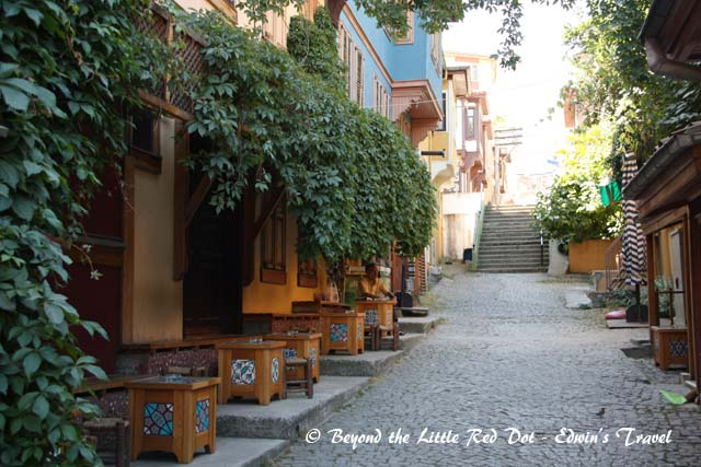 A street scene in Bursa.