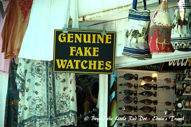 Truth in advertising at a souvenir shop near Ephesus. At least they are honest about it.