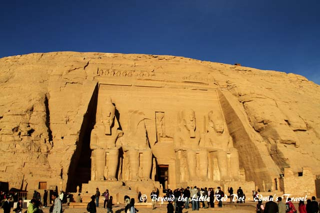The temple of Ramesses II.