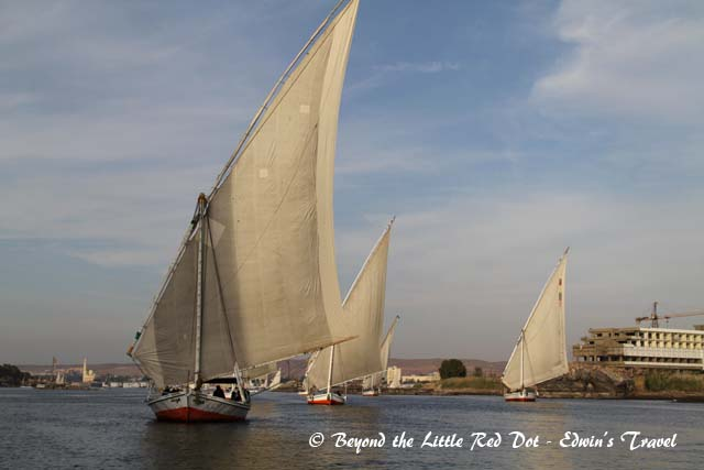 A classic sight along the Nile.