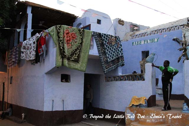 A typical Nubian house.