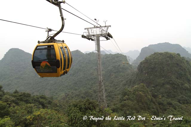 So we made our way back to the cable car for the trip down the mountain.