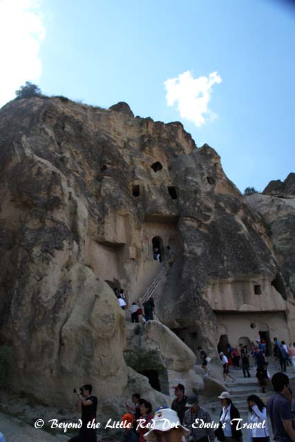 Houses and churches were carved into the rocks from the 10th to 13th centuries.
