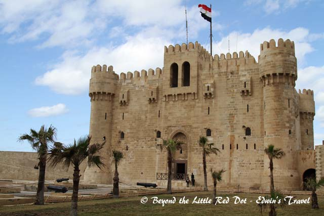 The Fort of Qaitbay was an important defensive structure for the city of Alexandria and was built in 1477AD.