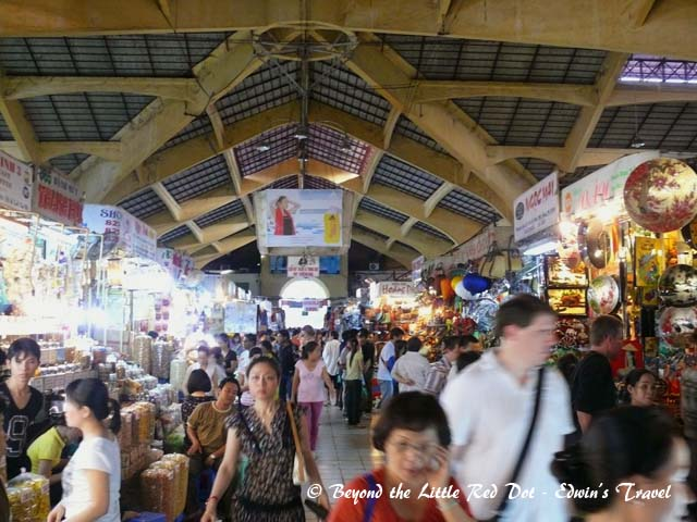 Ben Thanh Market. This is the largest market in the central district.