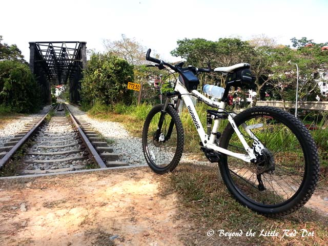 The Green Corridor is a nice place for some off road cycling.