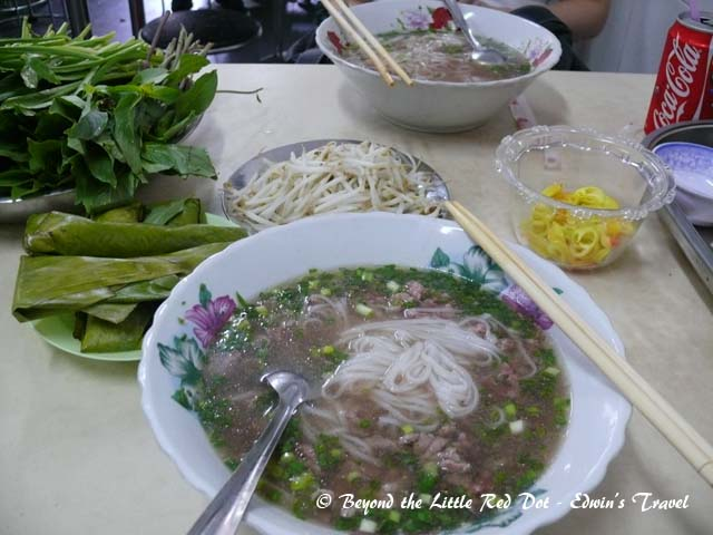 Really delicious beef pho. But the restaurant cleanliness leaves a lot to be desired.