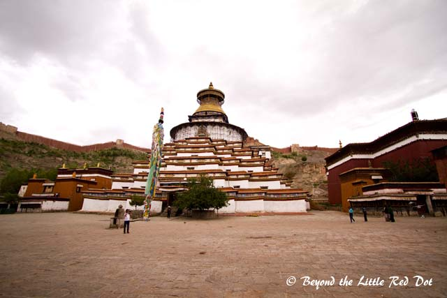 The Palcho Monastery in Gyantse.