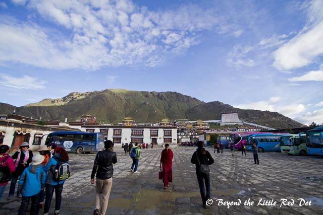 Tashilhunpo Monastery is the traditional seat of the Panchen Lama.