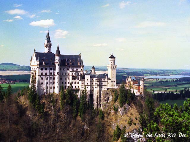 The fairy tale castle of every kids' dream.