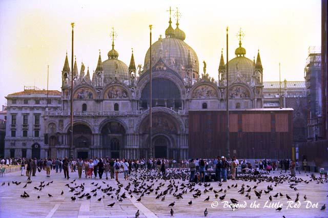 Another view of St Mark's Basilica taken in the early morning.