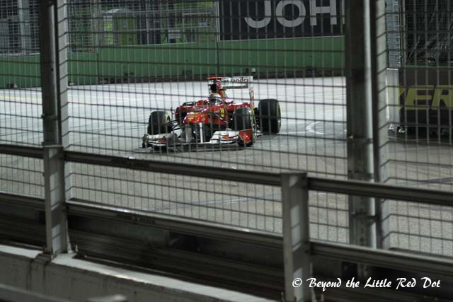 The safety barriers are supposed to stop a F1 race car from punching through even if its going at 300km/h.