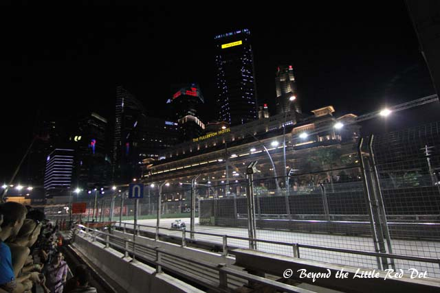 This is part of the race track near Fullerton Hotel.