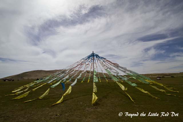 Some Tibetan flags.