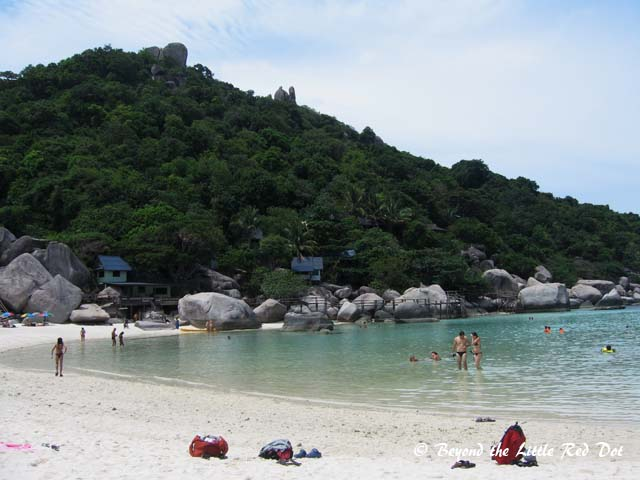 A small resort on Koh Nang Yuan.