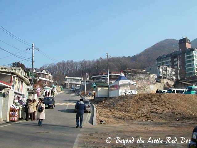 The small town of Chuncheon.