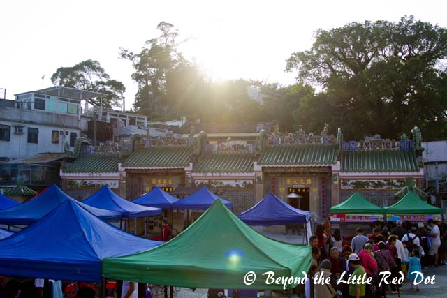 The old temple in Sai Kung.