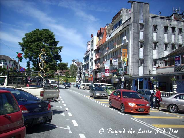 The township of Tanah Rata which serves as the administrative center of the region. It is also the largest town here.