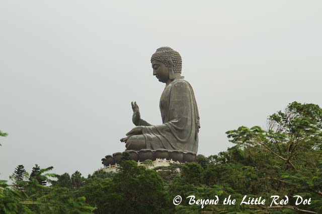 Better known as Tian Tan Buddha, this is the largest bronze Buddha in the world.