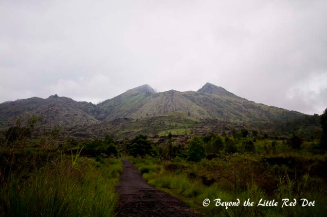 As we reached the base of Mt Batur once again, we could now see the volcano in the daylight and without mist.