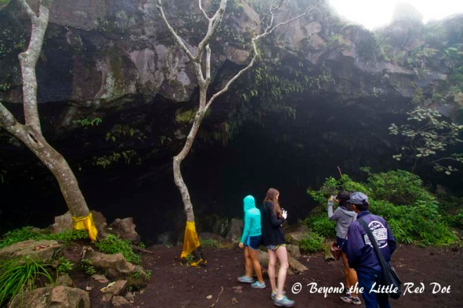 There is also a cave with a shrine where the locals would come to pray.