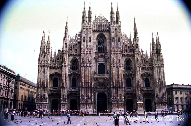 The Duomo is the centre of Milan and the main attraction for visitors.