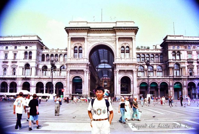 The Galleria Vittorio Emanuele shopping arcade, also next to Duomo Square.