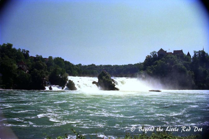 The Rhine Falls is not like any of the mega waterfalls in the world, but is incredible in its own small way.