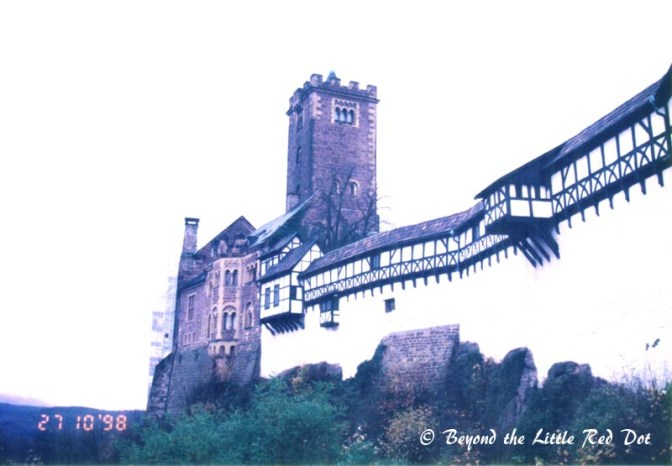 Wartburg Castle. It became a UNESCO Heritage site in 1999.