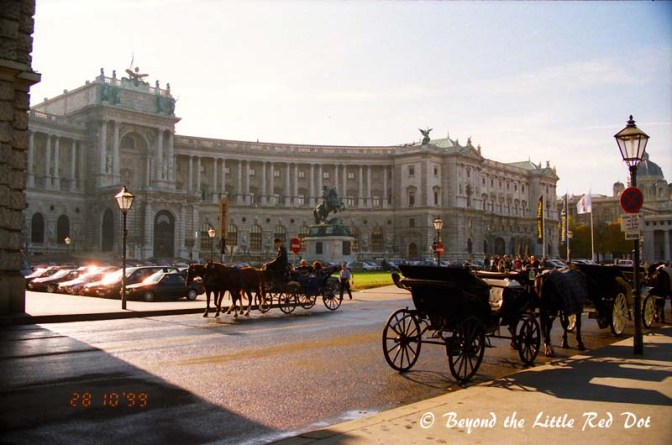 Next to the Parliament Building is Hofburg Palace and the former imperial palace. It is now the official residence of the President of Austria.