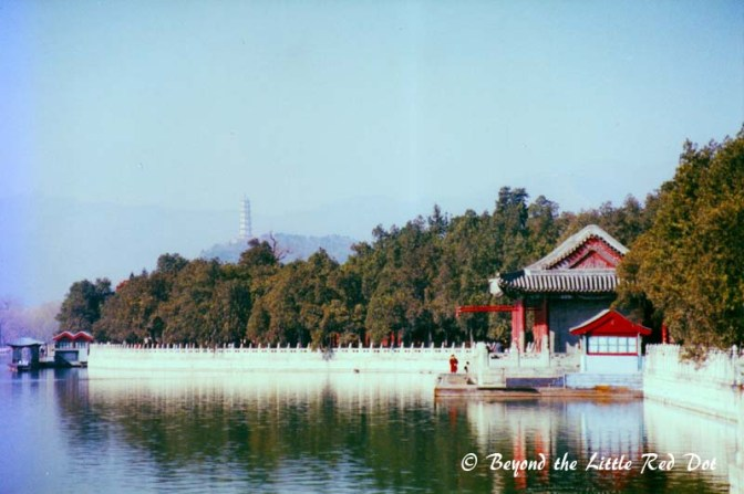 The landscape of the Summer Palace is really beautiful with it's classical Chinese design.