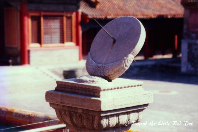 I know the ancient Chinese were credited with inventing many things, but I'm not sure if the sundial is one of them.