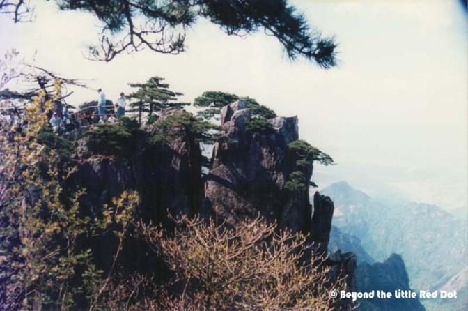 Viewing platforms which are built near the edge of vertigo inducing cliffs.