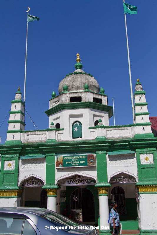 Another small mosque with a unique colour.