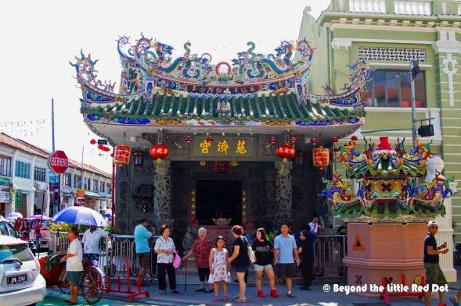 Yap Kongsi, a clan temple. If your surname is Yap, this is probably your starting point to search your family tree.