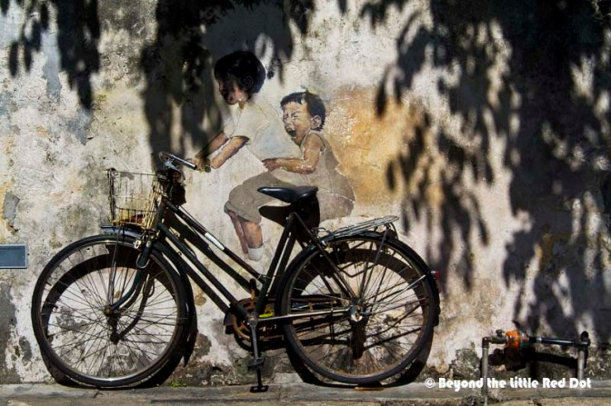 The most well known street art from Ernest.
