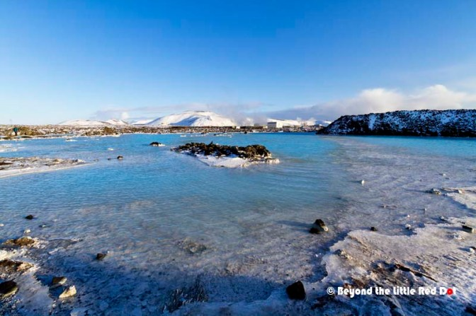 After soaking in the Blue Lagoon, you can explore the area around it.