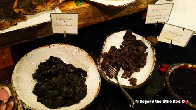 At one of the buffet restaurants in the city center you can try out whale meat. Not for the squeamish or environmentalist.