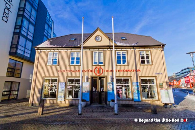 The Tourist Information center in the city center. There is another Tourist Information Center along the main shopping street, Laugavegur.