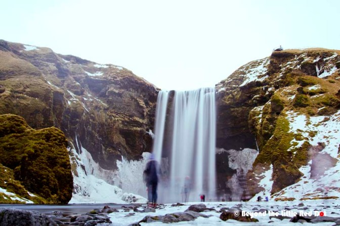 Skógafoss. One of the more well known waterfalls in Iceland.